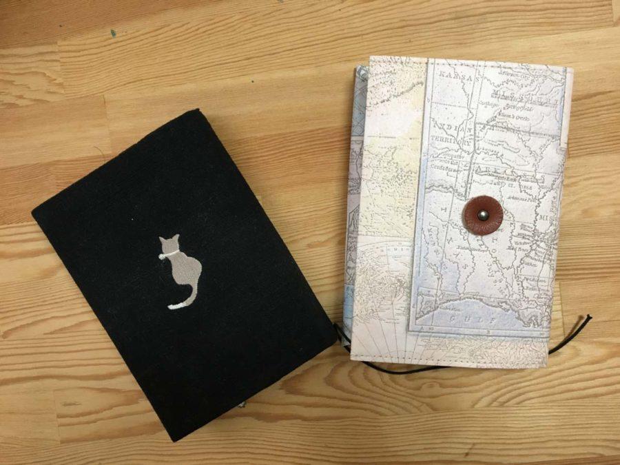 地図柄ブックカバー