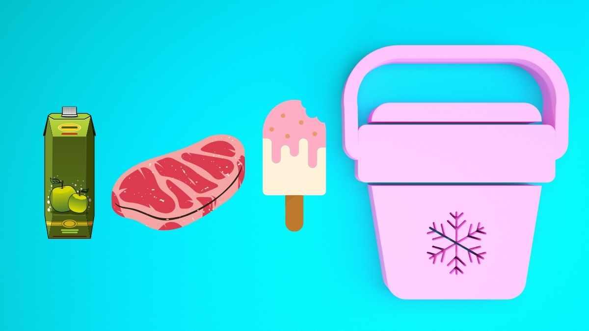 生鮮品やアイスに。保冷機能付きエコバッグ