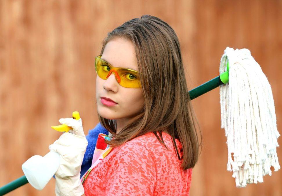 大掃除でキレイにしたい場所を整理しよう