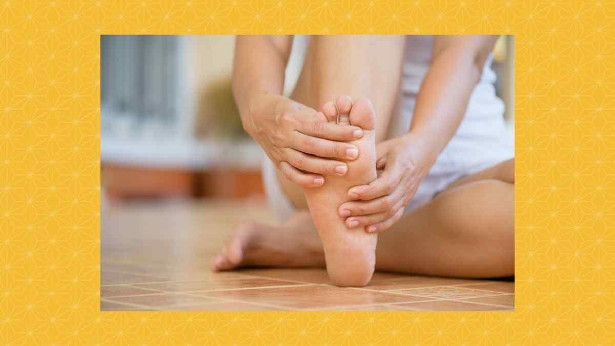 足の冷え予防に有効な布草履