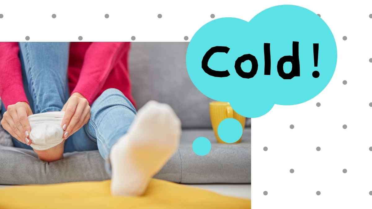 足が冷える理由 布草履効果