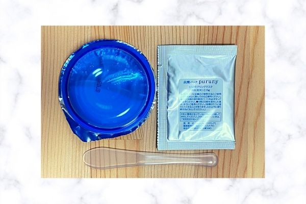 炭酸パックプルリのパッケージ